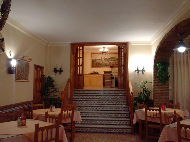 Entrada al salón del castillo.